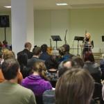 Shromáždění s manželi Minárikovými, Prostějov, 2. 2. 2014
