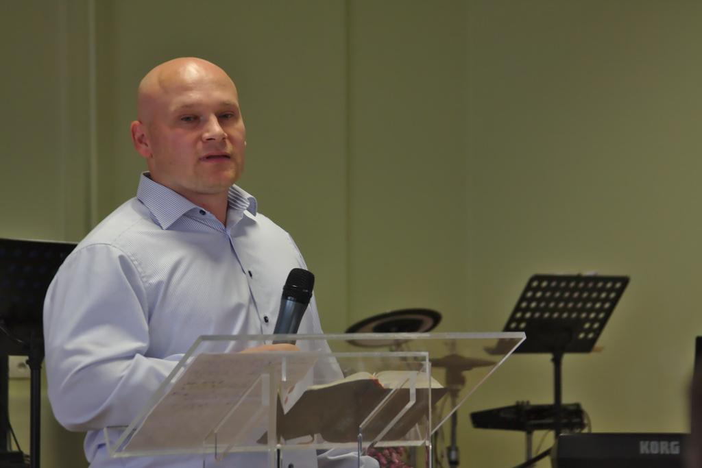 Petr Šakarov, Církev víry, Prostějov 19. 10. 2014